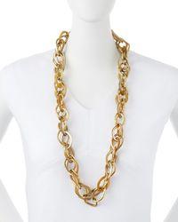 Ashley Pittman - Metallic Kamba Necklace Light Horn - Lyst