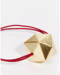 ASOS Red Limited Edition Cube Hairband