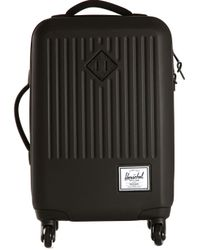 Herschel Supply Co. Black Hard Shell Suitcase for men