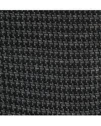 Bresciani Gray Houndstooth Knee-length Cotton Socks for men