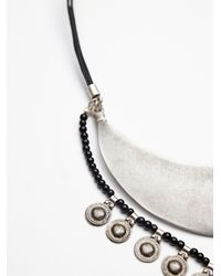 Free People Metallic Womens Yilan Coin Collar