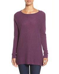 Caslon | Purple Cashmere Tunic | Lyst
