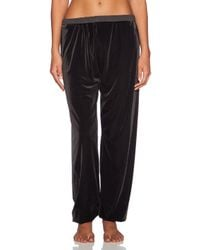 Blue Life Black Luscious Roll Over Pant