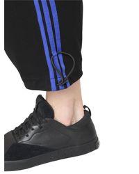 Y-3 - Blue Cotton Jersey Sarouel Jogging Pants for Men - Lyst