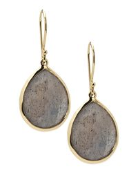 Ippolita - Metallic Labradorite Teardrop Earrings - Lyst