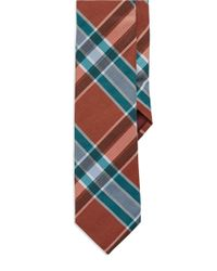 Original Penguin | Orange Plaid Tie for Men | Lyst