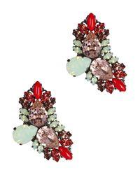Anton Heunis | Multicolor Daniela Swarovski Crystal Earrings | Lyst
