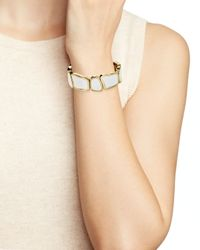 kate spade new york - White Play To The Gallery Stretch Bracelet - Lyst