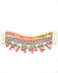 Juicy Couture | Multicolor Multi Strand Statement Bracelet | Lyst