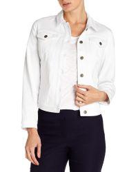 Phase Eight White Yasmin Denim Jacket