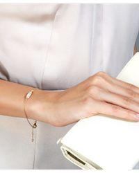 Astley Clarke - Metallic Gold-plated Prismic Moonstone Bracelet - Lyst