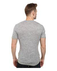 Icebreaker | Gray Anatomica Short Sleeve Crewe for Men | Lyst