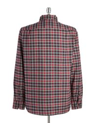 Victorinox - Gray Sterner Plaid Sportshirt for Men - Lyst