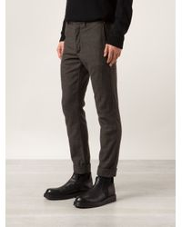Engineered Garments Brown Cinch Trousers for men