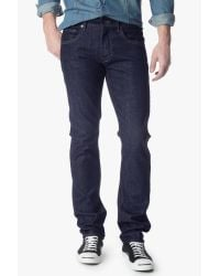 7 For All Mankind - Blue The Straight With Split Seam Pocket for Men - Lyst