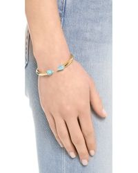 Vita Fede Blue Mini Titan Stone Bracelet