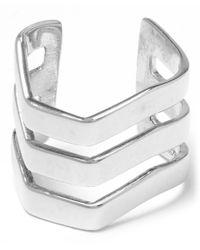 Maria Black - Metallic Silver Trinity Ear Cuff - Lyst