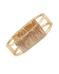 Robert Lee Morris | Metallic Spiral Jetty Wire-wrapped Bracelet | Lyst