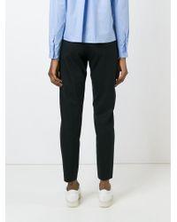 AALTO   Black Straight Leg Trousers   Lyst