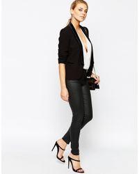 Oasis - Black Premium Tuxe Jacket - Lyst