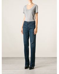 Mother Blue 'the Socialite' Flared Jeans