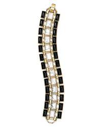 House of Harlow 1960 | Black 1960 Azure Mosaic Bracelet | Lyst