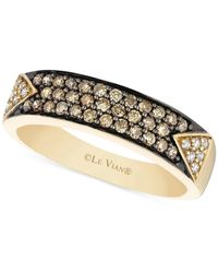 Le Vian | Metallic Chocolatier® Diamond Band Ring (3/8 Ct. T.w.) In 14k Gold | Lyst