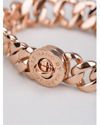Marc By Marc Jacobs - Metallic 'Turnlock Small Katie' Bracelet - Lyst