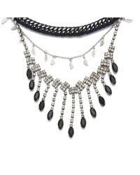 Venessa Arizaga Black Women's Let It Rain Necklace