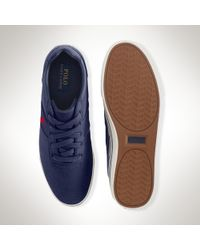 Polo Ralph Lauren | Blue Hanford Sneaker for Men | Lyst