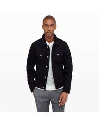 Club Monaco - Black Jean Shop Jean Jacket for Men - Lyst