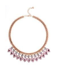 Ted Baker Green Emari Pear Drop Necklace