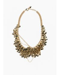 & Other Stories | Metallic Reptile Scale Necklace | Lyst