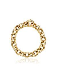 Monica Rich Kosann | Metallic 18k Yellow Gold Rosalind Link Bracelet | Lyst