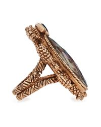 Stephen Dweck - Multicolor Large Multi-Stone Scarab Ring - Lyst