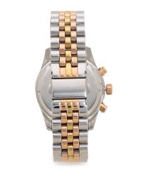 Michael Kors Metallic Lexington Triology Watch - Rose Gold/silver/yellow Gold
