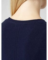 Reiss Blue Honey Merinoblend Jumper