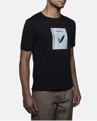 J.W.Anderson Black Orbital Patch T-shirt for men