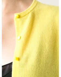 Autumn Cashmere Yellow Slim Fit Cardigan