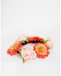 ASOS Multicolor Mix Flower Bun Holder