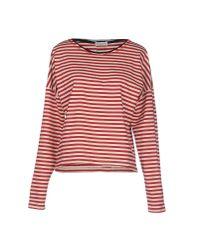Roberto Collina - Red T-shirt - Lyst
