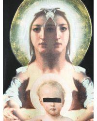 Givenchy - Black Saint Printed T-Shirt - Lyst