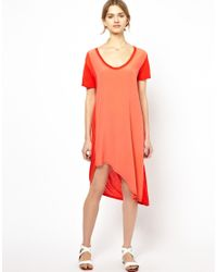 Vanessa Bruno Athé Red Vanessa Bruno Athe Dress With Silk Front