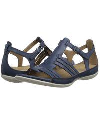 Ecco - Blue Flash Huarache Sandal - Lyst