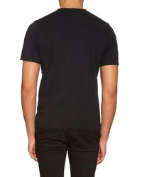 Undercover Black The End Print Cotton-jersey T-shirt for men