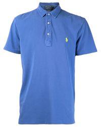 Polo Ralph Lauren - Blue Faded Polo Shirt for Men - Lyst