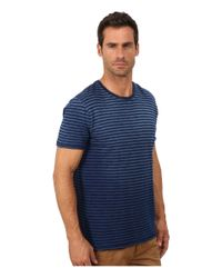 Lucky Brand | Blue Salt Point Y-neck Tee for Men | Lyst
