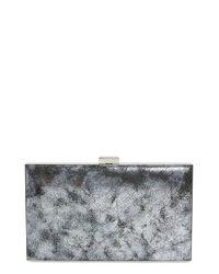 Sondra Roberts - Metallic Frame Clutch - Metallic - Lyst