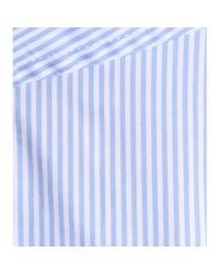 Marc By Marc Jacobs Blue Candy Stripe Cotton Shirt