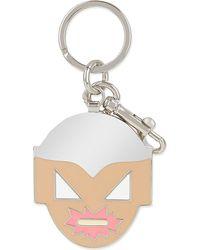 Stella McCartney Metallic Superhero Keychain - For Women